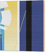 Symphony In Blue - Movement 2 - 1 Wood Print