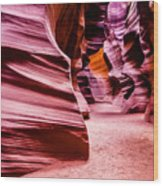 Antelope Canyon Light Wood Print