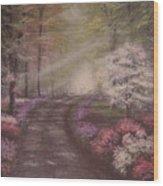 Symphony Of Love Wood Print