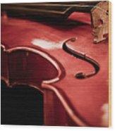 Symphony Of Strings Wood Print