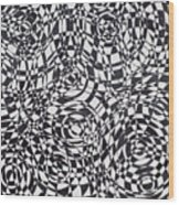 Synesthetic Charity- Spain 1 Wood Print
