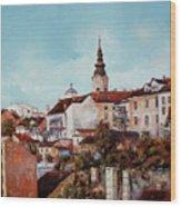 Synod Church - Belgrade Wood Print