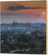 Syracuse Sunrise Wood Print