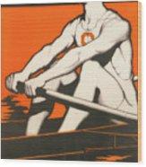 Syracuse University Crewman Wood Print
