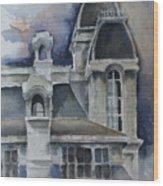 Syracuse University Wood Print
