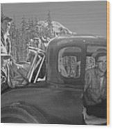 T-04902 Travelling To Climb In Style 1955  Wood Print