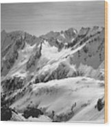 T-404403 Winter View North Cascades Wood Print