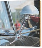 T-bird Reflections Wood Print