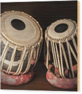 Tabla Musical Instrument Wood Print