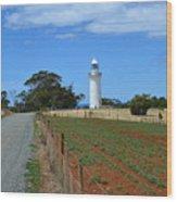 Table Cape Lighthouse Wood Print