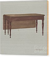 Table (dining?) Wood Print