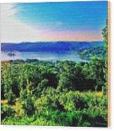 Table Rock Lake Wood Print