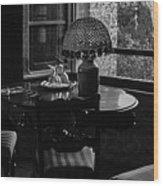 Table Setting Still Life Wood Print
