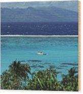 Tahiti, Moorea Wood Print