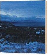 Tahoe Dawning Wood Print