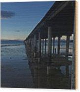 Tahoe Pier Wood Print