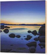 Tahoe Serenity Wood Print
