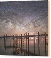 Tahoe Sky Wood Print