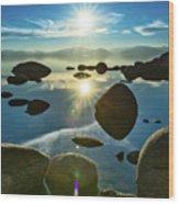 Tahoe Star Wood Print