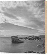 Tahoe Tiara Wood Print