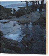 Tahoe Twilight Wood Print