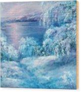 Tahoe Winter Wood Print
