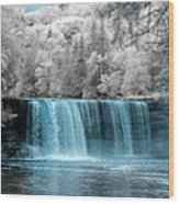 Tahquamenon Falls Ir 720nm Wood Print
