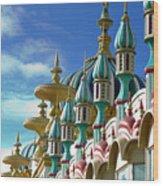 Tai Mahal Casino Atlantic City Wood Print