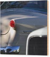 Tail Light Wood Print