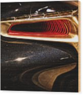 Taillight Of The Future Wood Print