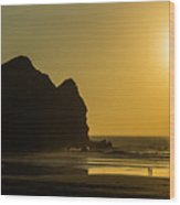 Taitomo Island Sunset Wood Print