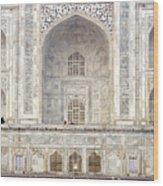Taj Mahal II Wood Print