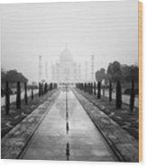 Taj Mahal IIi Wood Print by Nina Papiorek