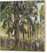 Tajny Hrbitov Wood Print