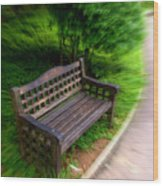 Take A Pause In Your Busy Life Wood Print