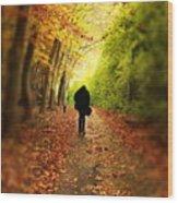 Take A Walk Wood Print
