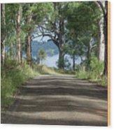 Take Me Home Country Roads Wood Print