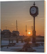 Take Time To Remember Seaside Park Nj Wood Print