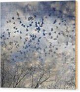 Taken Flight Wood Print