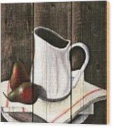 Takin A Break Wood Print