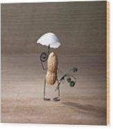 Taking A Walk 01 Wood Print by Nailia Schwarz