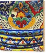 Talavera By Darian Day Wood Print