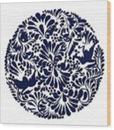 Talavera Design Wood Print