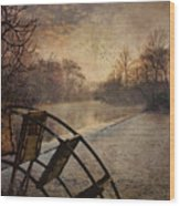 Tales From The Riverbank  II Wood Print