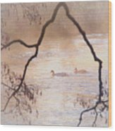 Tales From The Riverbank  Iv Wood Print