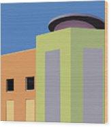 Talin Market Wood Print