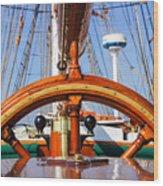 Tall Ship 2 Wood Print