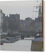 Tall Ship Of Copenhagen Wood Print