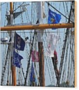 Tall Ship Series 15 Wood Print