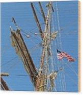 Tall Ship Series 8 Wood Print